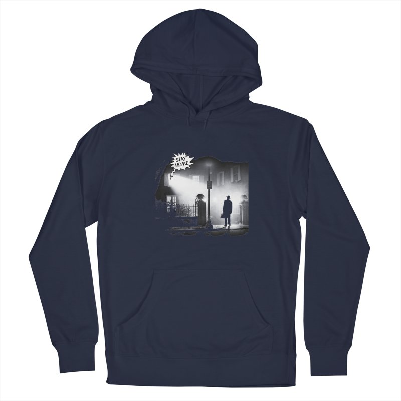 Stay home exorcist Men's Pullover Hoody by Producer original ideas on tees and accesories