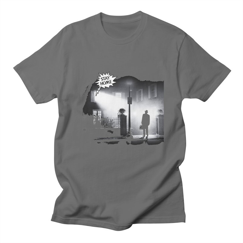 Stay home exorcist Men's T-Shirt by Producer original ideas on tees and accesories