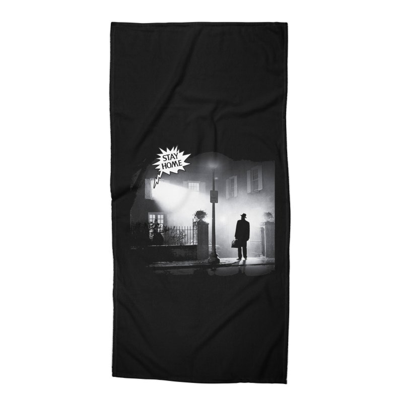 Stay home exorcist Accessories Beach Towel by Producer original ideas on tees and accesories