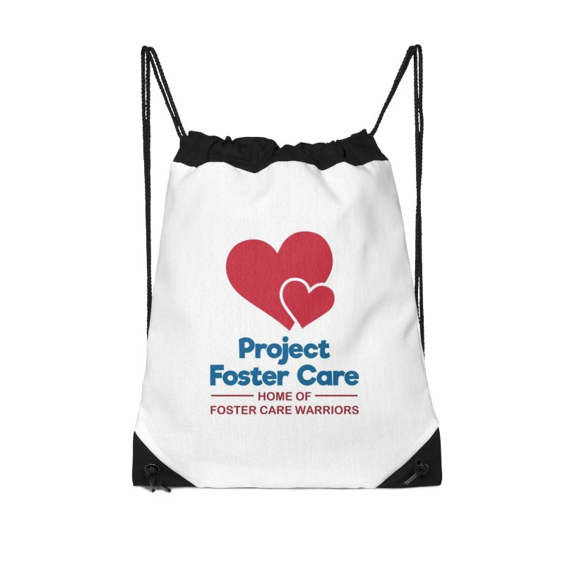 Logo Products in Drawstring Bag by Project Foster Care - Home of Foster Care Warriors