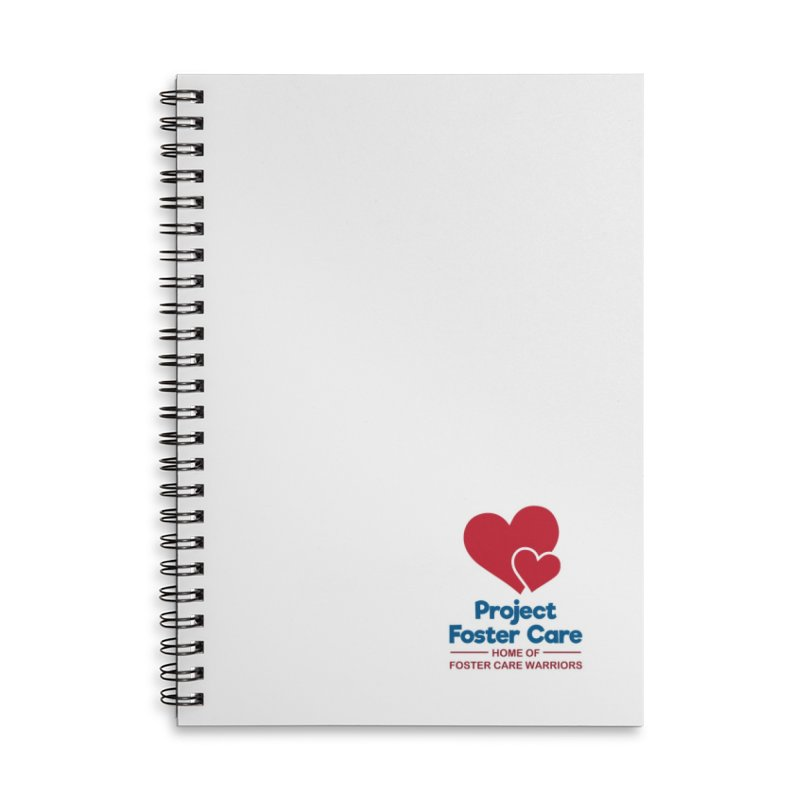 Logo Products in Lined Spiral Notebook by Project Foster Care - Home of Foster Care Warriors