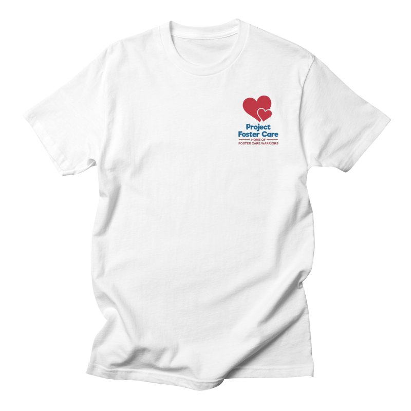 Logo Products Men's T-Shirt by Project Foster Care - Home of Foster Care Warriors
