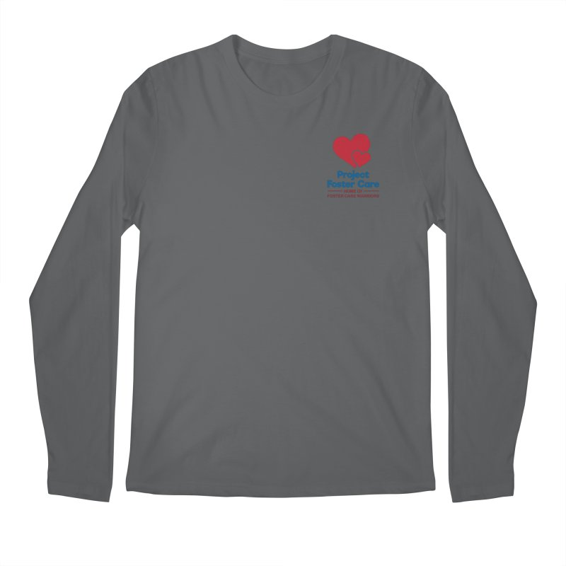 Logo Products in Men's Regular Longsleeve T-Shirt Heavy Metal by Project Foster Care - Home of Foster Care Warriors