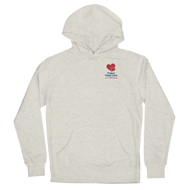 Logo Products Men's Pullover Hoody by Project Foster Care - Home of Foster Care Warriors