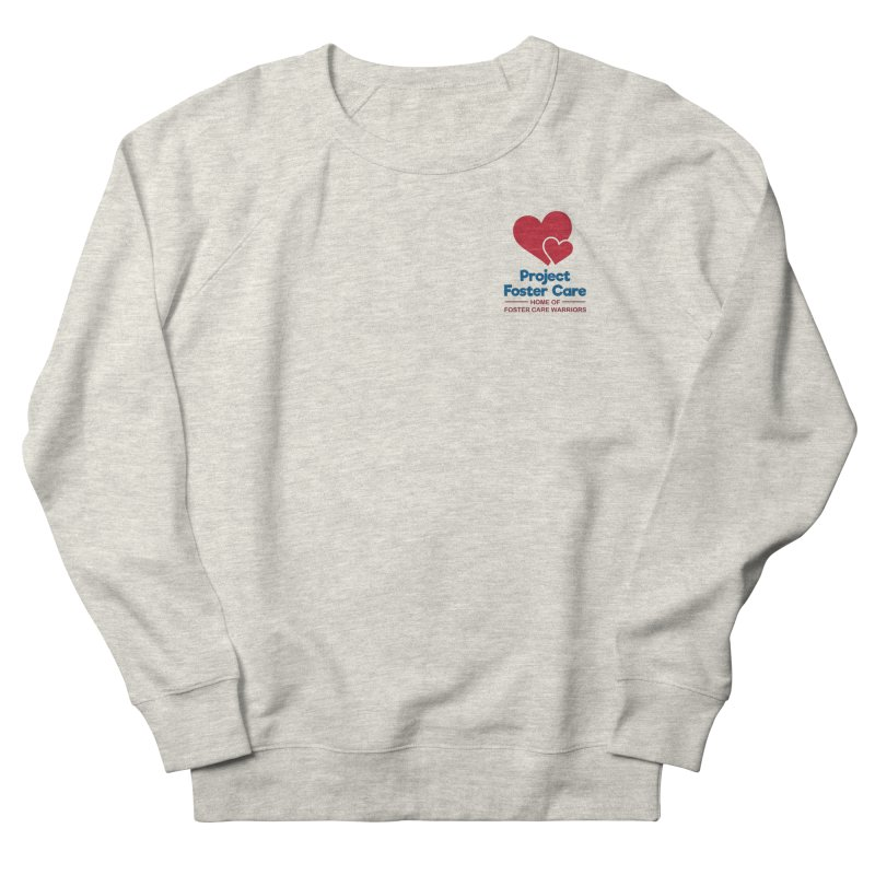 Logo Products Men's Sweatshirt by Project Foster Care - Home of Foster Care Warriors