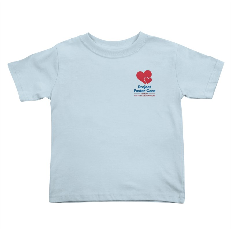 Logo Products Kids Toddler T-Shirt by Project Foster Care - Home of Foster Care Warriors