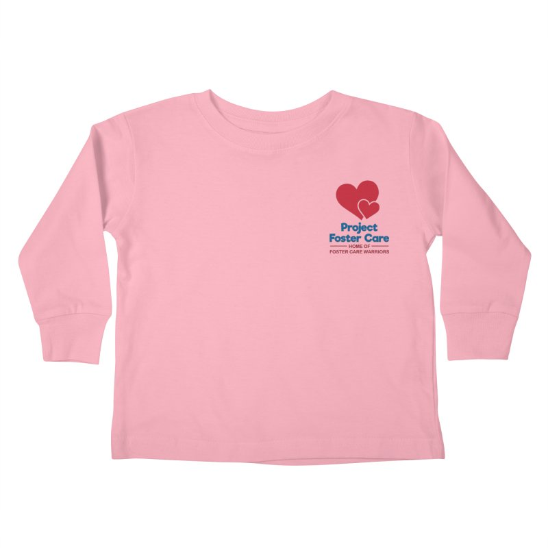 Logo Products Kids Toddler Longsleeve T-Shirt by Project Foster Care - Home of Foster Care Warriors
