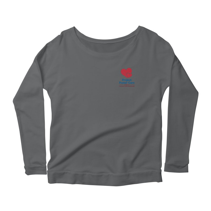 Logo Products Women's Longsleeve T-Shirt by Project Foster Care - Home of Foster Care Warriors