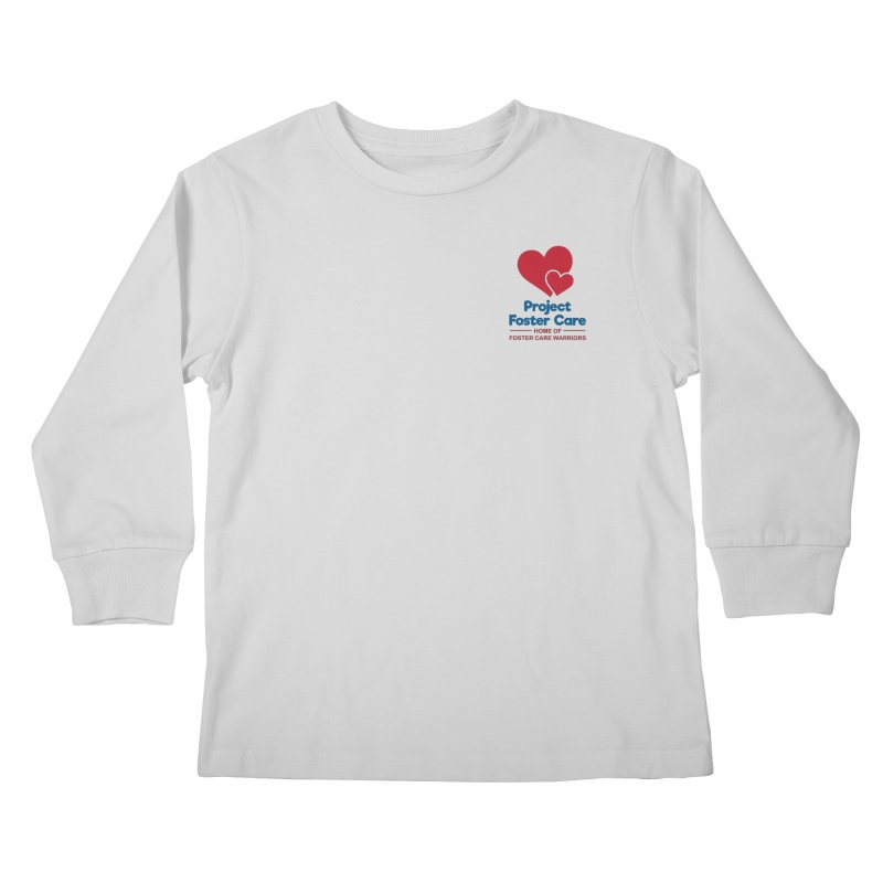 Logo Products Kids Longsleeve T-Shirt by Project Foster Care - Home of Foster Care Warriors