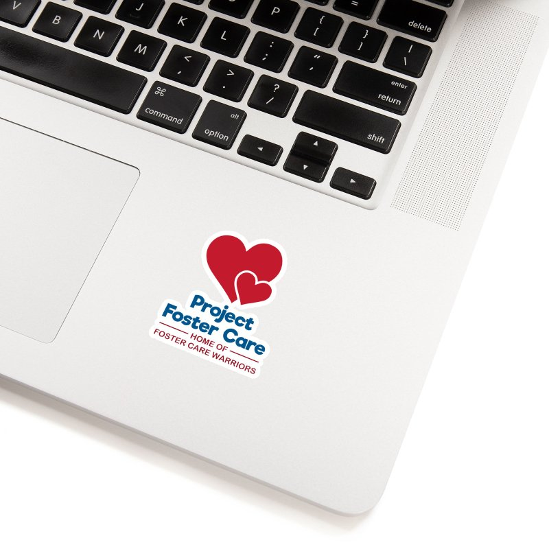 Logo Products Accessories Sticker by Project Foster Care - Home of Foster Care Warriors