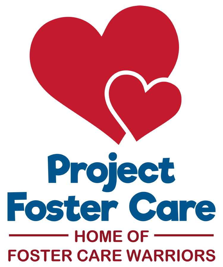 Project Foster Care - Home of Foster Care Warriors Logo