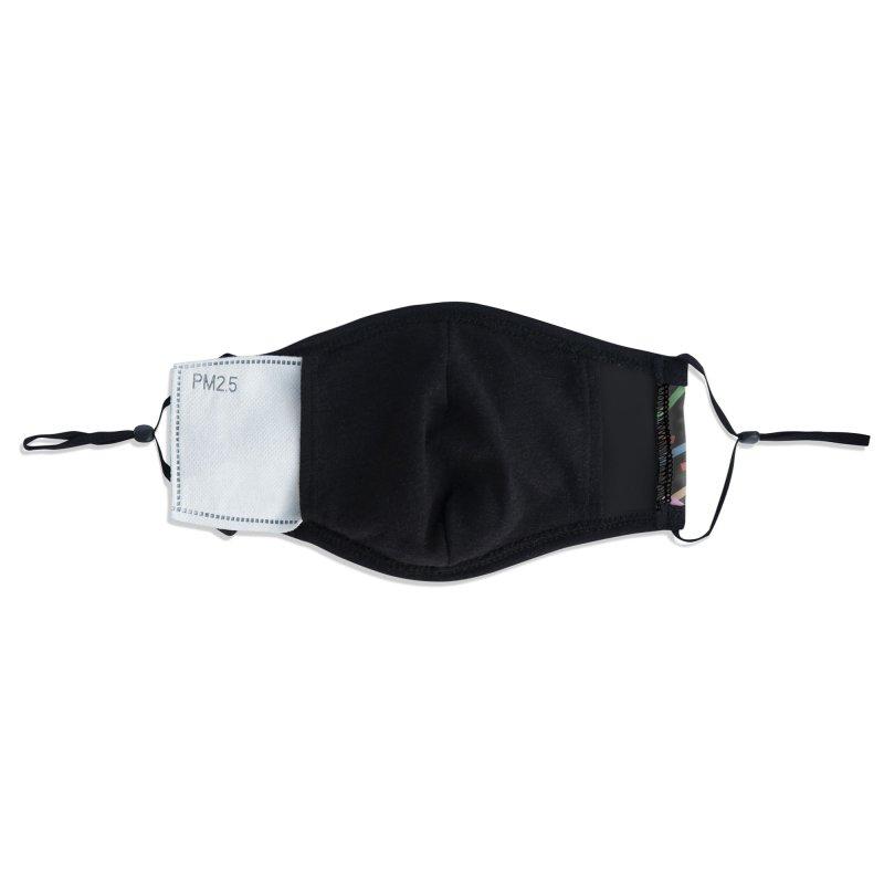 Kerplunk Black Accessories Face Mask by Emeline