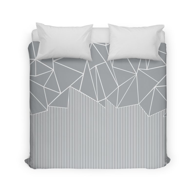 Ab Lines Grey Home Duvet by Emeline