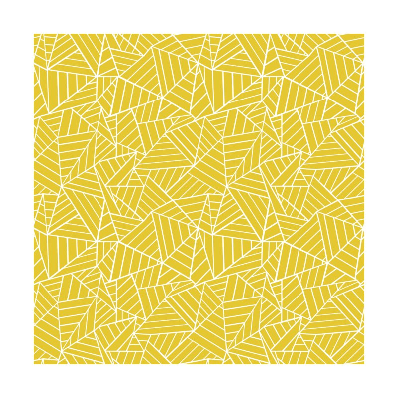 Abstract Lines 2 Yellow Accessories Face Mask by Emeline