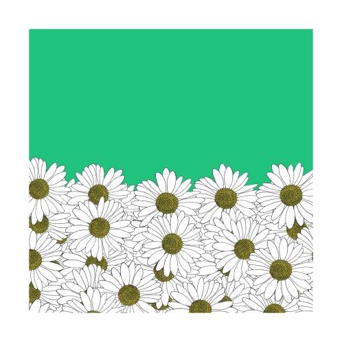 Design for Daisy Boarder Emerald Green