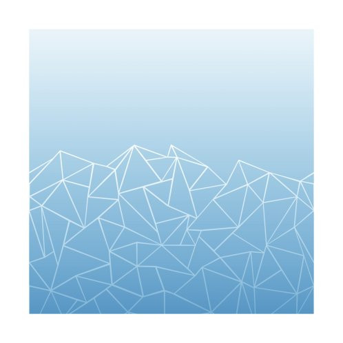 Design for Abstract Ombre Blue