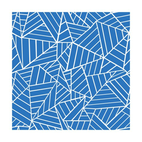 Design for Abstract Lines French Blue