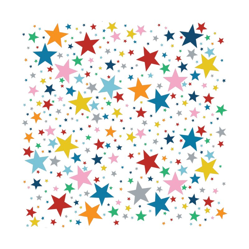 Stars Rainbow Repeat Accessories Magnet by Emeline