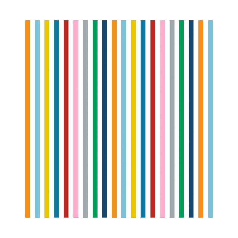 Rainbow Stripes Accessories Magnet by Emeline