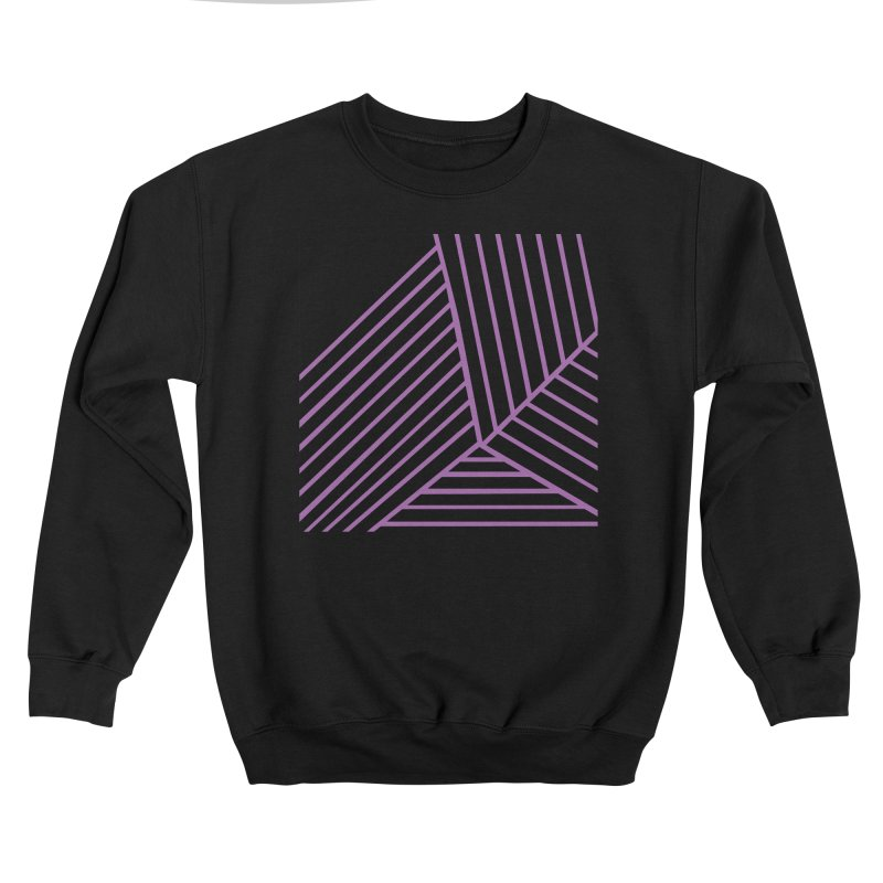 Geo Zoom Amethyst Men's Sweatshirt by Emeline
