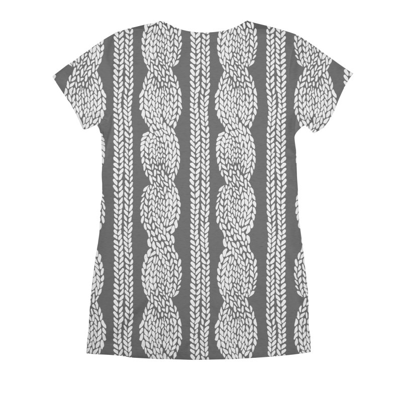 Cable Row Women's All Over Print by Project M's Artist Shop