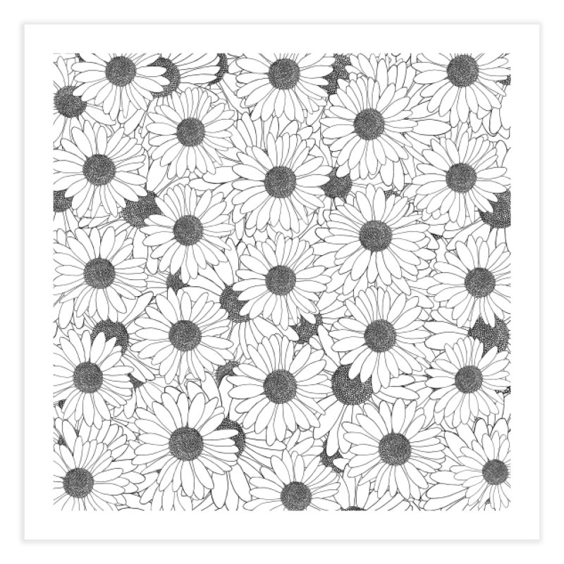 Daisies in Fine Art Print by Project M's Artist Shop