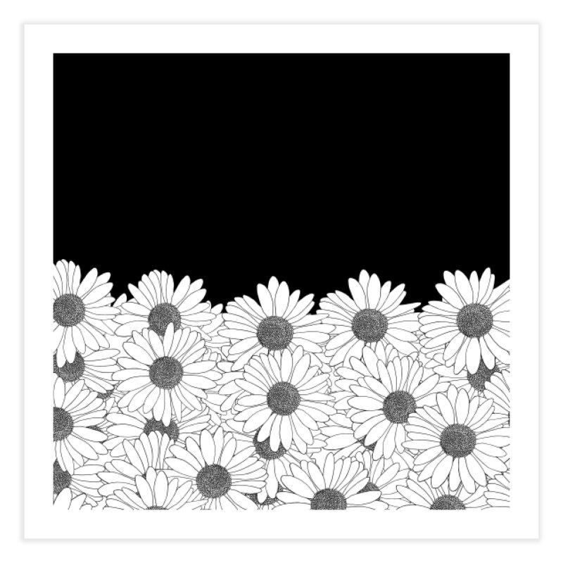 Daisy Boarder in Fine Art Print by Project M's Artist Shop