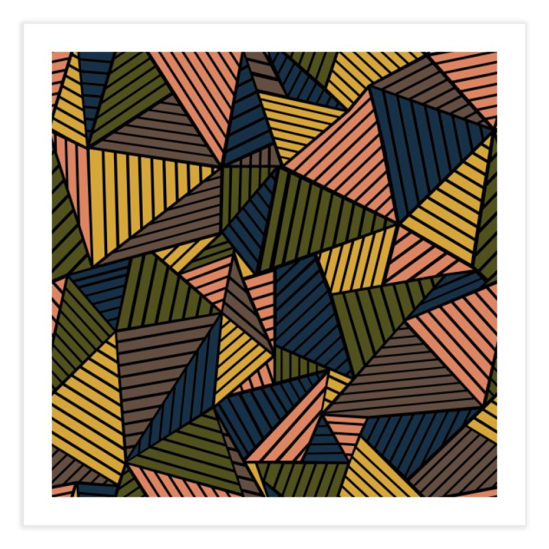 Ab Lines Autumn in Fine Art Print by Project M's Artist Shop