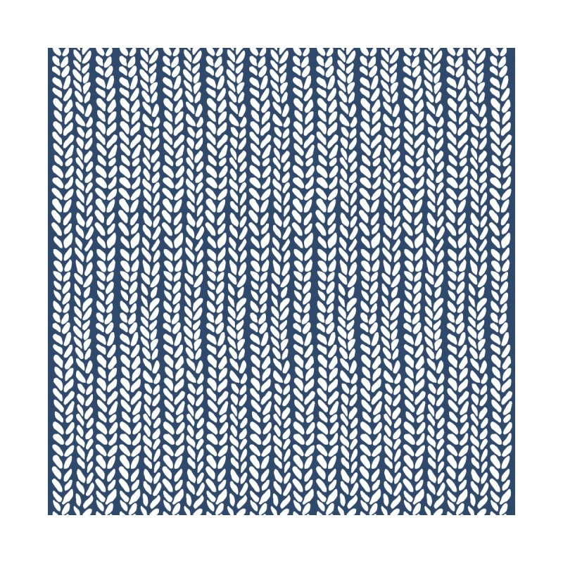 Knit Wave Navy Women's All Over Print by Project M's Artist Shop