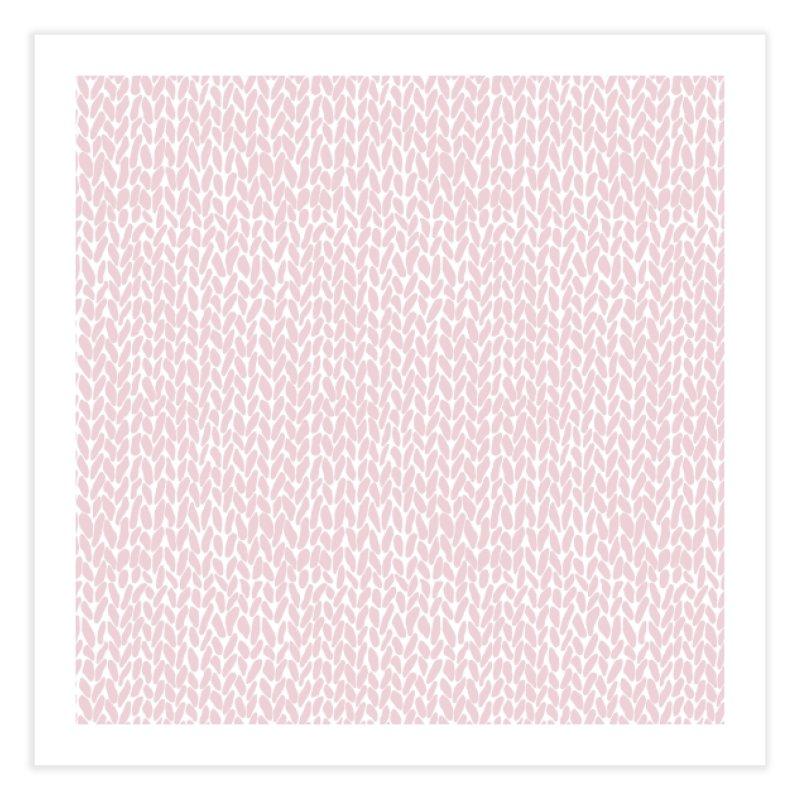 Knit Bubblegum in Fine Art Print by Project M's Artist Shop
