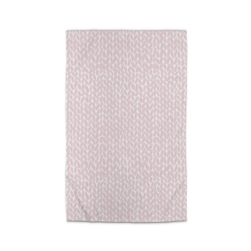 Knit Bubblegum Home Rug by Emeline