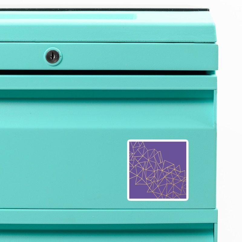 Violet Storm Accessories Magnet by Emeline