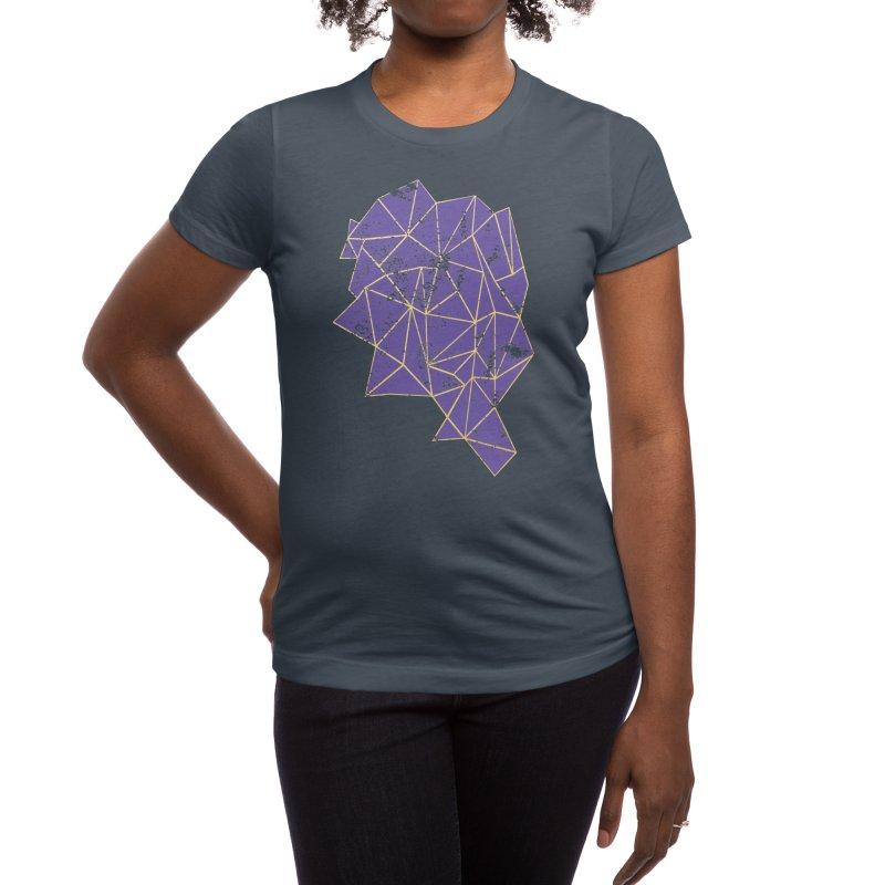 Violet Storm Women's T-Shirt by Emeline