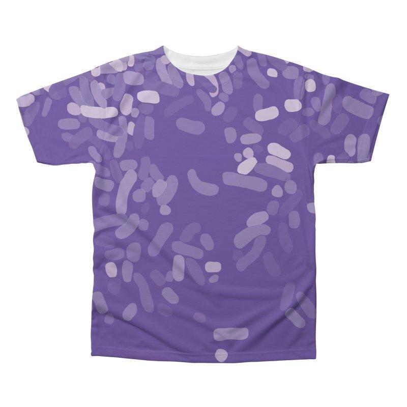 Violet Rain Men's Regular All Over Print by Project M's Artist Shop
