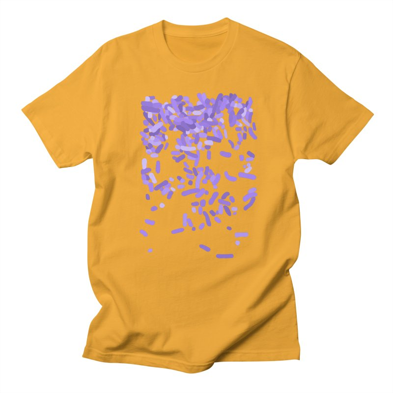 Violet Rain Men's Regular T-Shirt by Project M's Artist Shop