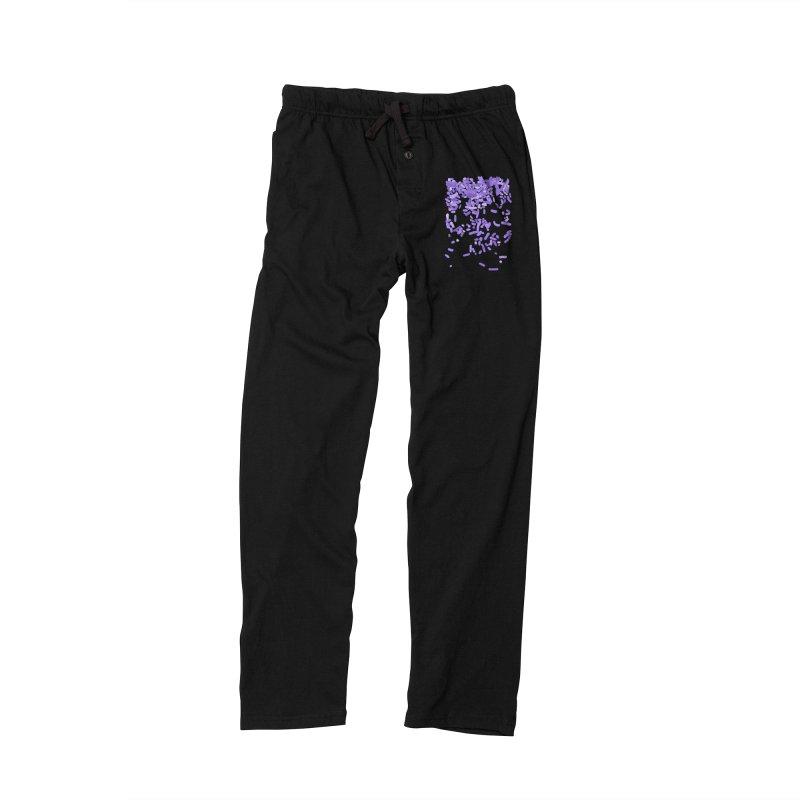 Violet Rain Men's Lounge Pants by Project M's Artist Shop