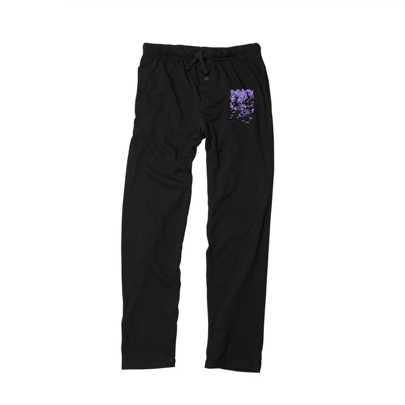 Violet Rain Men's Lounge Pants by Project M's Artist Shop
