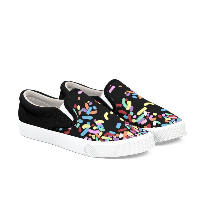 Sprinkles in Women's Slip-On Shoes by Project M's Artist Shop