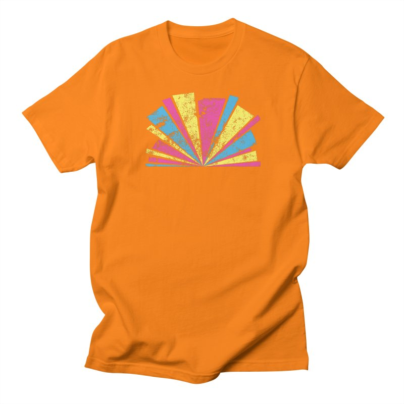 CMYK Star Burst Men's Regular T-Shirt by Project M's Artist Shop