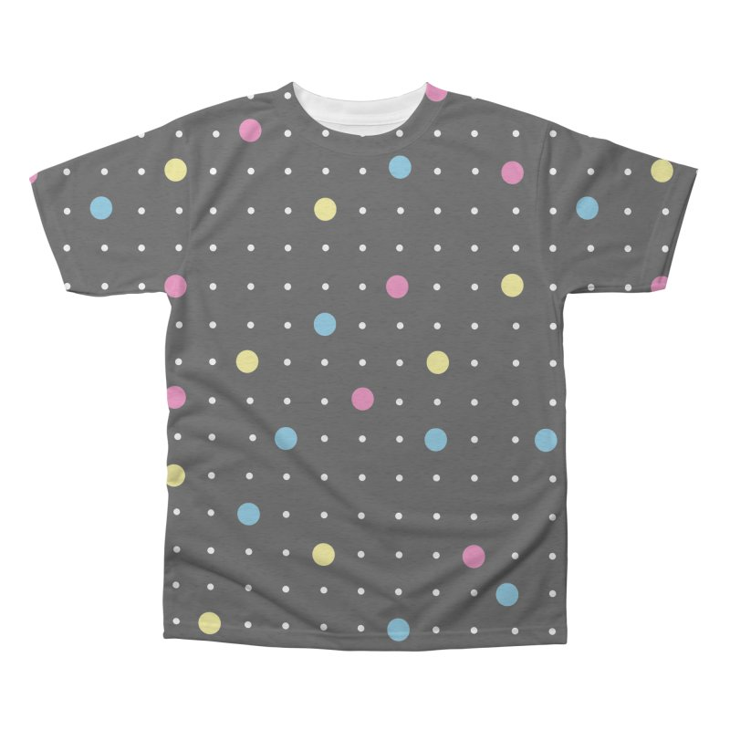 Pin Points CMYK Men's Triblend All Over Print by Project M's Artist Shop