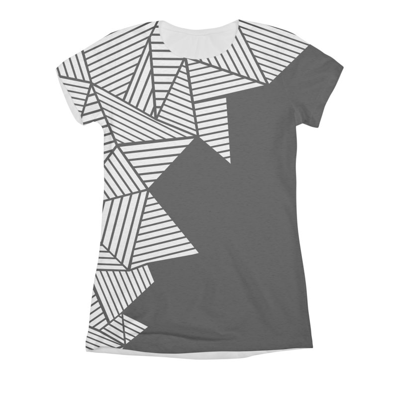 Ab Mountain Black Women's Triblend All Over Print by Project M's Artist Shop