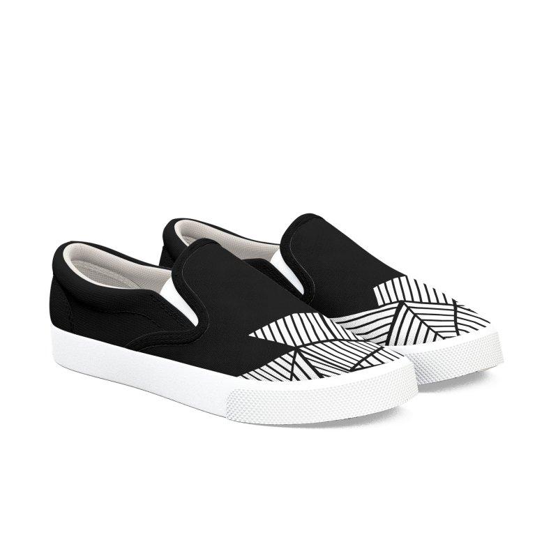 Ab Mountain Black Men's Shoes by Project M's Artist Shop