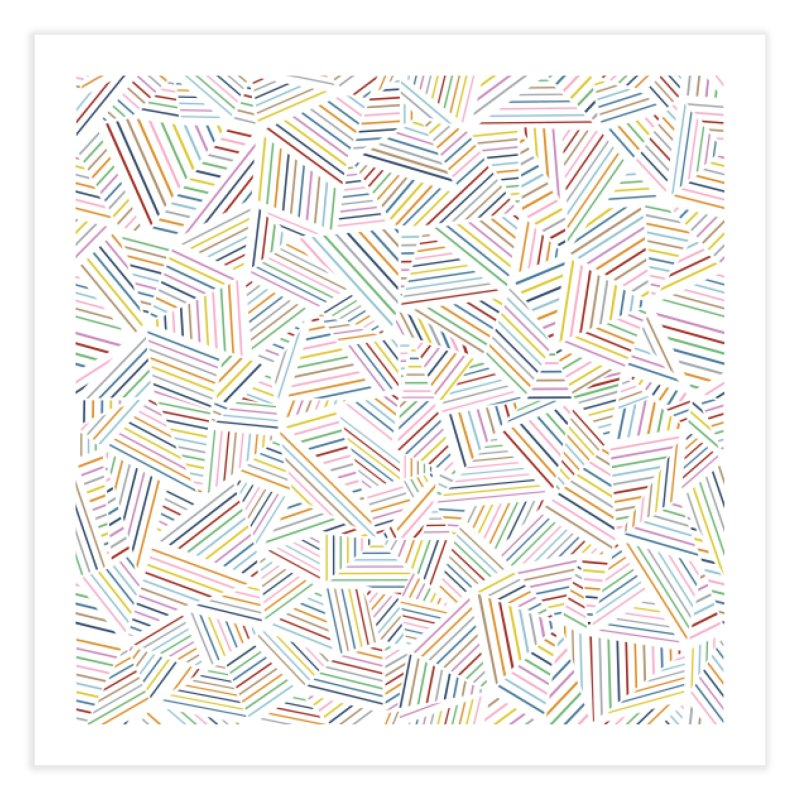 Ab Linear Rainbow in Fine Art Print by Project M's Artist Shop