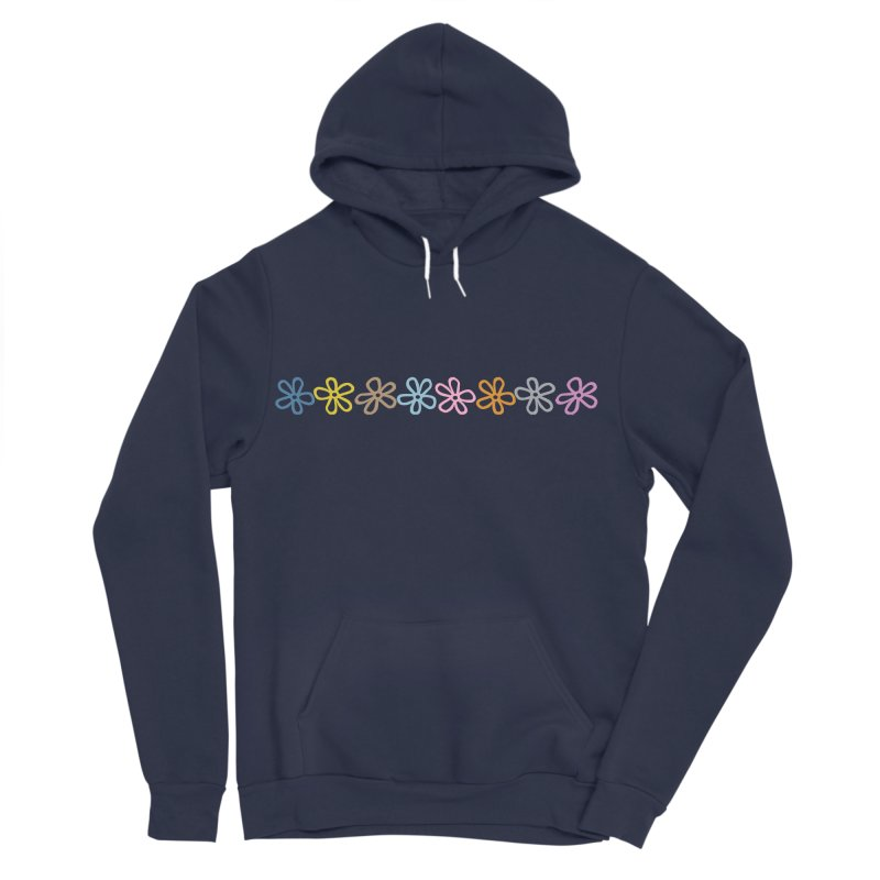 Colorful Daisies Men's Sponge Fleece Pullover Hoody by Project M's Artist Shop