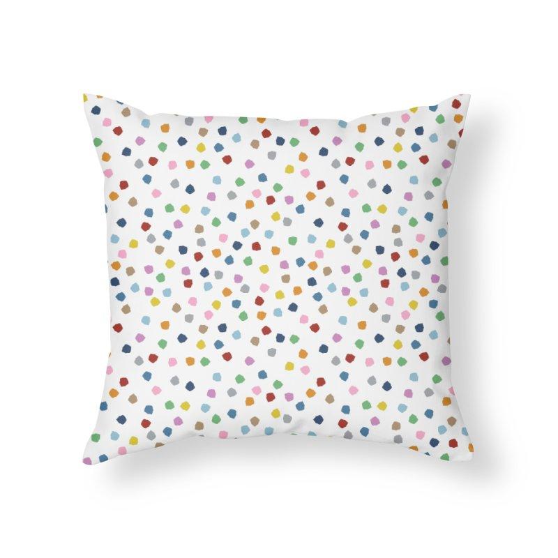 Blossom Petals in Throw Pillow by Project M's Artist Shop