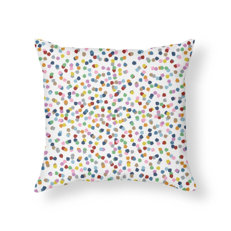 Blossom Petals II in Throw Pillow by Project M's Artist Shop