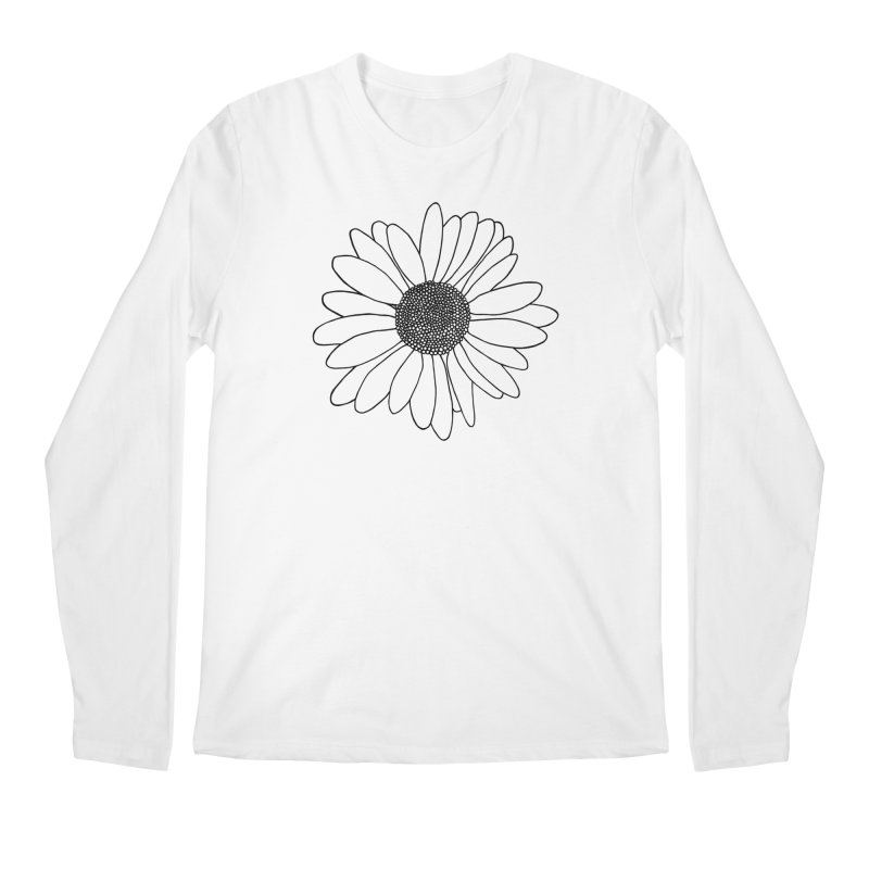 Daisy Mint Blocks Men's Regular Longsleeve T-Shirt by Project M's Artist Shop
