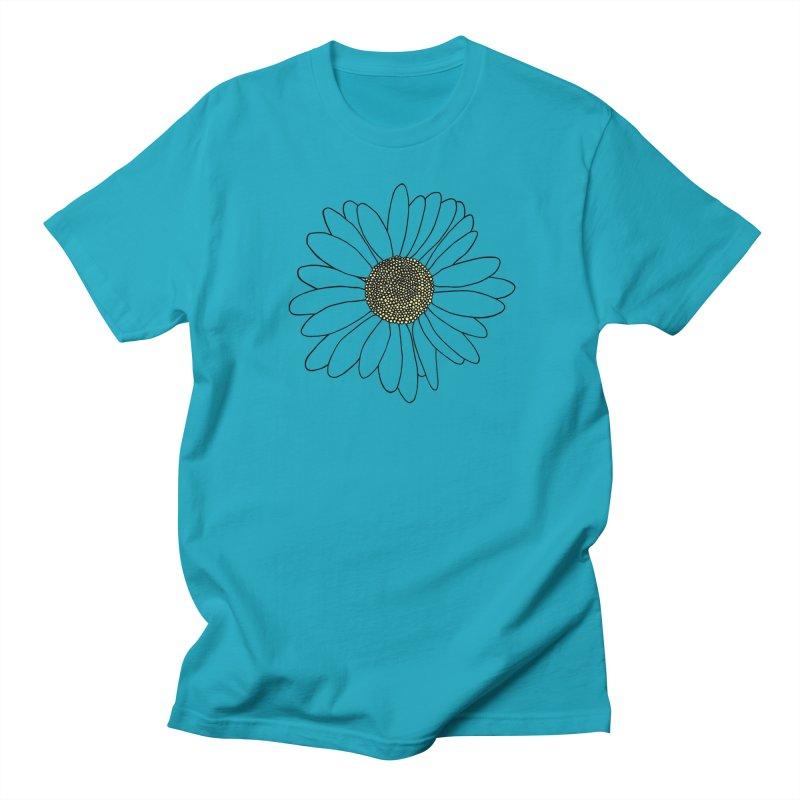 Daisy Blue Blocks Women's Regular Unisex T-Shirt by Project M's Artist Shop
