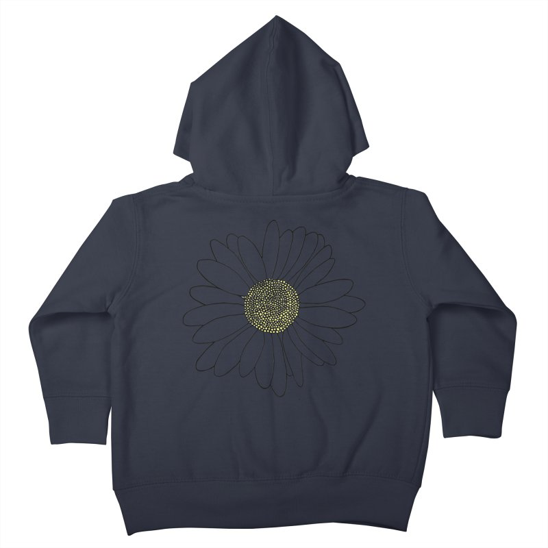 Daisy Blue Blocks Kids Toddler Zip-Up Hoody by Project M's Artist Shop