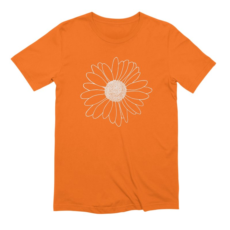 Daisy Grid Men's Extra Soft T-Shirt by Project M's Artist Shop